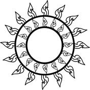 Słońce talizman