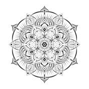 Mandala kwiat