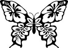 Artystyczny motyl