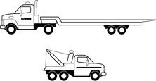 Ciężarówki holowanie