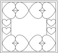 Ramka z sercami