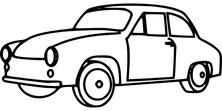 Auto szablon