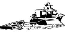 Holowanie łódki