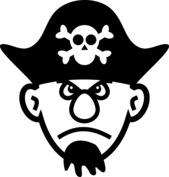 Głowa pirata