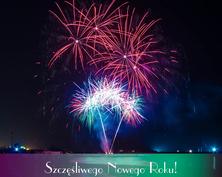 Szczęśliwego Nowego Roku kartka