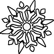 Śnieżynka do druku