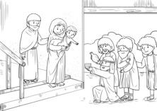 Biblijna scena