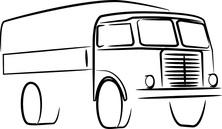 Ciężarówka szkic