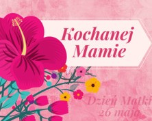 Kochanej Mamie kartka