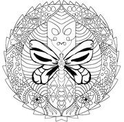 Mandala motyl