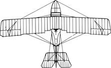 Samolot wojskowy przekrój