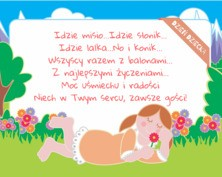 Kartka na dzień dziecka z życzeniami