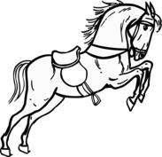 Skaczący koń
