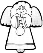 Ładny aniołek