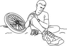 Upadek z roweru