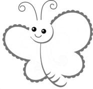 Uśmiechnięty motyl