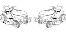 Traktory - kosiarki