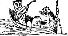 Koty na łódce