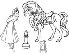 Księżniczka i koń