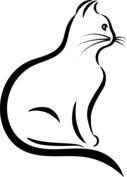Siedzący kot