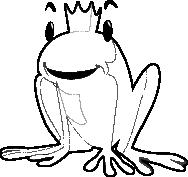 Żaba z koroną