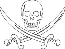 Symbol piratów
