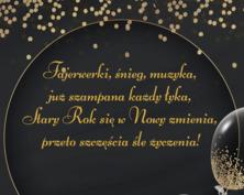 Życzenia noworoczne kartka