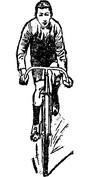 Młodszy rowerzysta