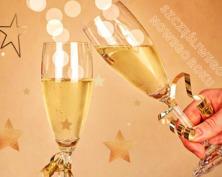 Złota kartka noworoczna