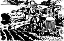 Praca na traktorze