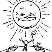Rolnik i słońce
