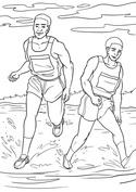 Dwóch biegaczy