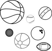 Piłki różne