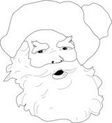 Twarz św. Mikołaja