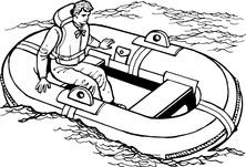 W łodzi ratunkowej