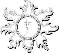 Dwie twarze w słońcu