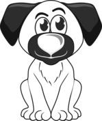 Grzeczny pies