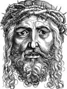 Realistyczna twarz Jezusa