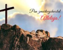 Pan zmartwychwstał kartka
