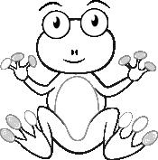 Wesoła żaba