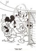 Myszka Miki, mecz piłki nożej