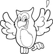 Wesoła sowa