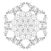 Mandala piłka