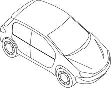 Auto z góry