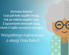 Kartka z życzeniami dla babci