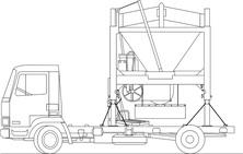 Ciężarówka cement