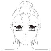 Anime twarz pociągła