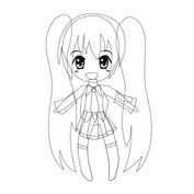Anime dziewczynka
