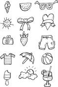 Wakacyjne symbole