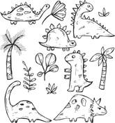 Dinozaury różne